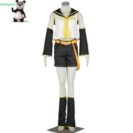 vocaloid christmas cosplay Australia - CosplayLove Vocaloid Kagamine Rin Cosplay Costume Custom Made For Halloween Christmas