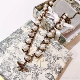 Venta al por mayor de 925 de lujo de diseño de lujo de joyería para mujer collar S925 marca, regalo de cumpleaños de Navidad, caja de regalo, entrega gratuita a la puerta 17