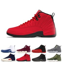 $enCountryForm.capitalKeyWord NZ - Best discount 12 12s men Basketball Shoes Sneakers black white PLAYOFF THE MASTER Gym red gamma blue 12s mens sports shoes 7-13