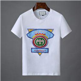Ss Shirts NZ - 2019 Letter Casual t shirt Medusa t-shirt popular White Mens Designer short sleeve T-shirt Italy Brand T-shirts Classic Luxury Embroidery ss