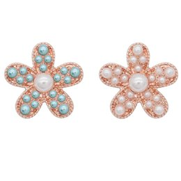 $enCountryForm.capitalKeyWord NZ - 5pcs New 18mm Starfish Snap Buttons Jewelry pearl rose gold Buttons Snap Jewelry Fit 20mm Fashion Bracelet Necklace
