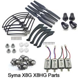 $enCountryForm.capitalKeyWord Australia - Full Set 3Colors SYMA X8 Series Spare Parts Fit for X8G X8HG Propeller Gear Motor Frame Landing Gear Motor Cover ect.