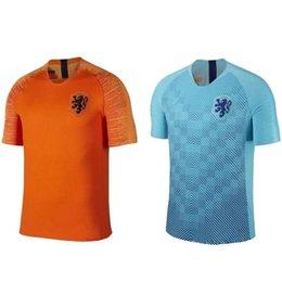 New 2019 Netherlands jerseys top quality DE JONG VIRGIL PROMES MEMPHIS DE  LIGT Football shirts 18 19 Holland National Team Soccer Shirts 10746b5e4