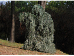 Ghillie suit clothinG online shopping - Camouflage Hunting Ghillie Suit Secretive Hunting Aerial Shooting Clothes Sniper Suits Camouflage Clothing