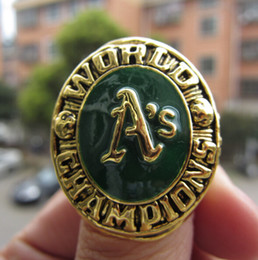 $enCountryForm.capitalKeyWord Australia - Oakland 1973 Athletic s World Baseball Championship Ring Souvenir Men Fan Gift 2019 wholesale Drop Shipping