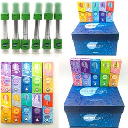 e smart vape pen wholesale Australia - Clear Edition Smart Carts 510 Thread Vape Pen Thick Oil Cartridges Packaging 0.8ML Copper Tip SmartBud Glass Tank E Cigarettes Vape Carts
