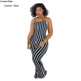Wholesale Lemon Gina women Strap Sexy Jumpsuit Summer Overalls One Piece Outfit Elegant Backless Rompers Womens Jumpsuit