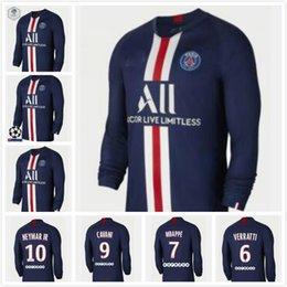 $enCountryForm.capitalKeyWord Australia - 2019 Paris home MBAPPE DI MARIA Long sleeve SOCCER JERSEYS 19 20 PSG red CAVANI VERRATTI Football Shirt 2020 PSG Paris blue training suit