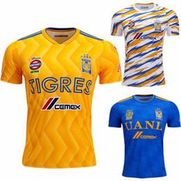 9c170bf6c Tigres Soccer Jerseys UK - 2019 Tienda Tigres Home Soccer Jersey Gignac  Vargas UANL 18 19