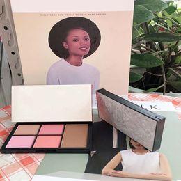 $enCountryForm.capitalKeyWord Australia - High quality long-lasting N@R Virtual diamond cheek palette 5 colors blush makeup with retail box easy to wear DHL Free face cosmetics