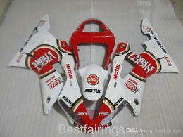 Fairing Red For Yamaha R1 Australia - ZXMOTOR 7gifts fairing kit for YAMAHA R1 2000 2001 white red fairings YZF R1 00 01 DU52