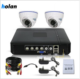 remote access camera 2021 - 1080p CCTV Camera Security System Surveillance DVR Recorder 4 Channel 2 x 2MP 1080p Weatherproof Dome Camera Outdoor Ind