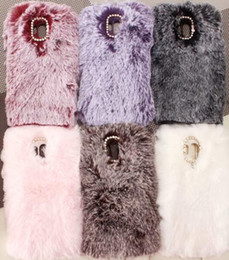 $enCountryForm.capitalKeyWord Australia - Genuine Rabbit Hair Case For Huawei Mate 20 Pro 10 Lite P Smart 2019 (Y5 Y6 Y7)2018 Bling Diamond Fluffy Fur Girl Soft TPU Cute Covers Skin
