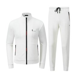 mens suits fashion trends NZ - Mens Designer Tracksuits Bosses High quality Custom Luxury Track suit Classic Comfortable Casual Cotton Coodie Trend Fashion Sports Suits