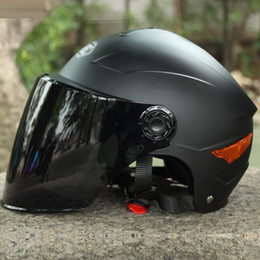 $enCountryForm.capitalKeyWord Australia - 2018 YOHE YH-357-G motorcycle Helmet Half Face motorbike motorcycle helmet electric bicycle helmets In the summer with dual lens 5 colors