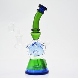 $enCountryForm.capitalKeyWord NZ - 8 Inch fab egg dab rig with banger green blue heady glass oil rig super new recycler