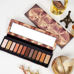 naked makeup 12 Canada - In Stock !! High Quality Makeup Eyeshadow Palette 12 Colours Eye Beauty Naked Multi Pearlescent Eye Shadow Palette With Fast Shipping