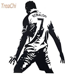 $enCountryForm.capitalKeyWord Australia - 3D Wall Sticker Football Cristiano Ronaldo Waterproof Removable Wall Stickers Decal Bedroom Home Decoration DIY Poster Stickers