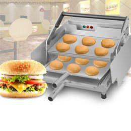 $enCountryForm.capitalKeyWord Australia - FREE SHIPPING Hamburger Grill Machine Automatic Hamburger Machine Hamburger Bun Toaster Grill Patty Machine For Sale