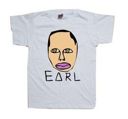 935f1d719f16 Wolf Gang Tyler The Creator Earl Drawing - White t shirt Odd Future Shirt  Trump sweat sporter t-shirt