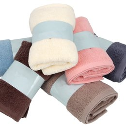 Children textile online shopping - Bathroom Soft Cotton Face Towels CM Super Strong Absorbent Towel Fast Drying Washcloth Home Textiles Supplies TTA302