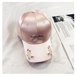 $enCountryForm.capitalKeyWord Australia - Brand New Womens Popular Embroidered Adjustable Baseball Cap Women Leisure Fashion Hat Casquette Wholesale Free Shipping