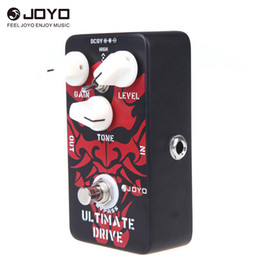 Amp Pedals Australia - JOYO JF-02 Guitar Effect Pedal Surpassing Diode Tube Amp Ultimate Drive Overdrive Features Bordering-on-distortion Overdrive
