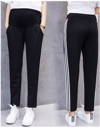 maternity long trousers Australia - Spring 2019 new styles of maternity pants for women in spring and autumn Belly breeches make long trousers