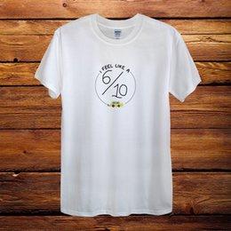 Design Sweat Shirt Australia - Dodie Clark I feel like a 6 10 Singer Top Design T-Shirt cattt windbreaker Pug tshirt Trump sweat sporter t-shirt fan pants t shirt