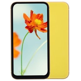 Russian Radio online shopping - Green Tag Sealed Yellow Goophone XR V4 GB GB GB Face ID G WCDMA Quad Core MTK6580 inch All Screen Wireless Charging GPS Smartphone