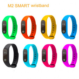 ios compatible Canada - Hot sell M2 Smart Bracelet smart watch Heart Rate Monitor bluetooth Smartband Health Fitness Smart Band for Android iOS activity tracker