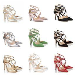 $enCountryForm.capitalKeyWord Canada - Quality Top Womens Girl Designer High Heels Lancer Fashion Luxury 8 10 12 Cm Dress Office Party Wedding Crystal Shoes Size 36-42