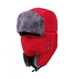Snow Cap Style Australia - Unisex fashion winter thicken warm hat winter  snow hat Lei Feng 55fd123bbef