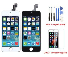 $enCountryForm.capitalKeyWord NZ - 2019 NEW Bright Backlight LCD Display For iPhone 5S Touch Screen Digitizer Full Assembly Replacement Repair Parts Free DHL