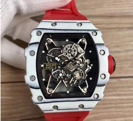 Hollow Fiber Australia - cool men watch luxury carbon fiber and steel automatic top quality from kv good price hollow out