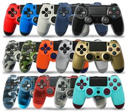 Station Wireless Controllers Australia - Bluetooth PS4 Controller for PS4 Vibration Joystick Gamepad Wireless PS4 Game Controller for Sony Play Station With box NEW+