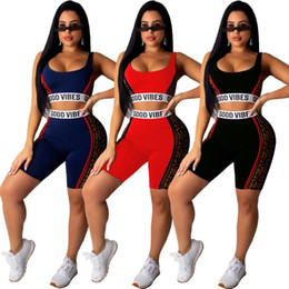 club leggings Australia - womens hoodie leggings outfits two piece set tracksuit shirt shorts sports set sleeveless sportswear hot selling klw1597_1