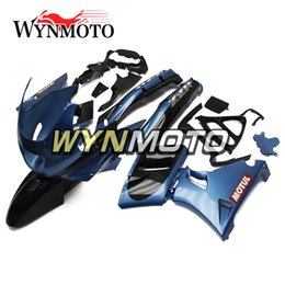 Injection Zzr Australia - ABS Plastic Injection Motorcycle Full Fairings For Kawasaki ZZR400 1993 - 1997 NINJA ZZR-400 93 94 95 96 97 Bodywork Dark Blue Carenes New