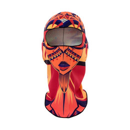 Chinese  New Style Full Face 3D Unisex Mask Sport Mask Cycling Bike Bicycle Riding Face Scarf Scarves Headband Protect Top Sell manufacturers