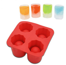 $enCountryForm.capitalKeyWord UK - Free Shipping 150pcs lot Iced shots Shooters Ice Cube Shot Glass Freeze Mold Maker Rubber with retail box