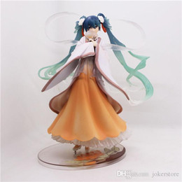 free miku doll 2019 - Harvest Moon Hatsune Miku Sexy Anime Action Figure Art Girl Big Boobs Tokyo Japan Adult Products Doll Free Shipping Free