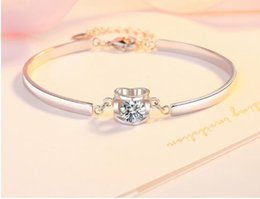 Pure Silver Clover Bracelet Female Korean Edition Simple Personality Student Mori Friends Couple Jewelry Girlfriends Birthday Gift SL001