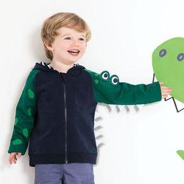 $enCountryForm.capitalKeyWord Australia - Baby Boys Winter Jacket Dinosaur Kids Clothes 2018 Autumn Winter Boys Jacket For 2 3 4 5 6 7 Years Old Cartoon Zipper Coat
