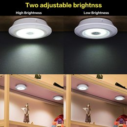 Creative small space lighting COB touch lamp cabinet pat lamp tail box lamp with remote control on Sale