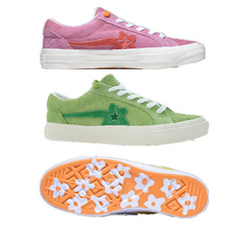 6bee7ec76014 Mens designer shoes the Creator x One Star Ox Golf Le Fleur TTC off red white  casual shoes Tyler sneaker mono vetements