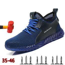 $enCountryForm.capitalKeyWord Australia - Soft Bottom Comfortable Labor Insurance Shoes Men's Breathable Deodorant Steel Toe Cap Safety Shoes Anti-puncture Work BootsMX190907