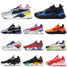 black shoes wheels Canada - RS-X running shoes hot wheels toys rs x women men chaussures zapatos reinvention transformers trophy mens trainer fashion sports sneakers