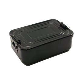 hiking clasps 2019 - Camping Heat Resistant Lunch Box Hiking With Locking Clasps Outdoor Easy Clean Picnic Lightweight Travel Portable Alumin