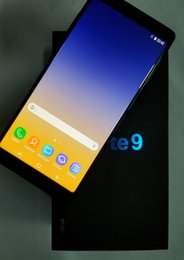 $enCountryForm.capitalKeyWord Australia - Goophone note9 Note 9 Unlocked Cell Phones quad core 8G rom 6.3inch full Screen Show 128GB fake 4g lte Android 8.0 cell phone