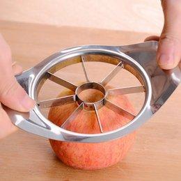 $enCountryForm.capitalKeyWord NZ - Stainless Steel Vegetable Fruit Slicer Apple Pear Cutter Slicer Fruit Knife Salads Tools Kitchen Gadget